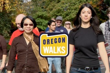 'Oregon Walks' rebranding launch video from Gyroscope Pictures